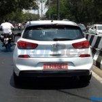 Third-gen Hyundai i30 rear spy shot India