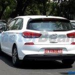 Third-gen Hyundai i30 rear three quarters spy shot India