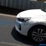 Third-gen Hyundai i30 wheel spy shot India