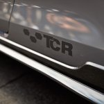 VW Golf GTI TCR Concept TCR logo at Worthersee