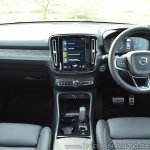 Volvo XC40 review dashboard