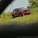 Volvo XC40 review front angle far