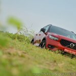 Volvo XC40 review front three quarters angle view