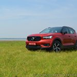 Volvo XC40 review front three quarters image