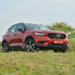 Volvo XC40 review front three quarters low