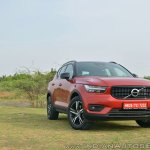 Volvo XC40 review front three quarters