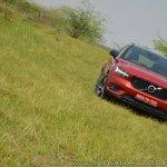 Volvo XC40 review front tilt (2)