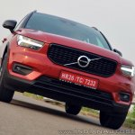 Volvo XC40 review front tilt