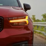 Volvo XC40 review headlamp turn indicator