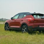 Volvo XC40 review left rear three quarters