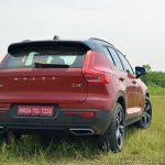 Volvo XC40 review rear angle view