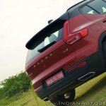 Volvo XC40 review rear section