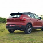 Volvo XC40 review rear three quarters