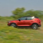 Volvo XC40 review side motion shot