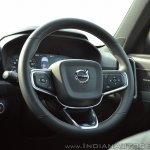 Volvo XC40 review steering wheel