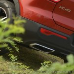 Volvo XC40 review tail pipe