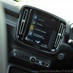 Volvo XC40 touchscreen display