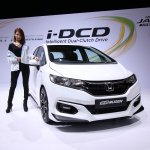 2017 Honda Jazz Hybrid Mugen front three quarters
