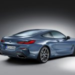 2018 BMW 8 Series Coupe rear three quarters