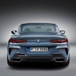 2018 BMW 8 Series Coupe rear