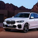 2018 BMW X5 (BMW G05) front three quarters leaked image