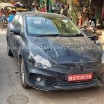 2018 Maruti Ciaz facelift front spy shot