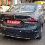 2018 Maruti Ciaz facelift rear spy shot