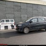2018 Maruti Ertiga petrol spy shot side angle