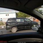 2018 Maruti Ertiga petrol spy shot side right
