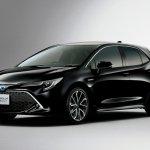 2018 Toyota Corolla Hatchback (Toyota Corolla Sport) black