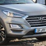 2019 Hyundai Tucson (facelift) front fascia