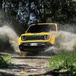 2019 Jeep Renegade Trailhawk action shot
