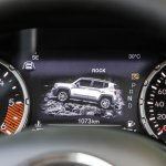 2019 Jeep Renegade Trailhawk instrument console