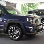2019 Jeep Renegade facelift nose section