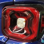 2019 Jeep Renegade facelift tail light detail