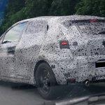 2019 Renault Clio rear three quarters spy shot