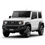 2019 Suzuki Jimny front three quarters white