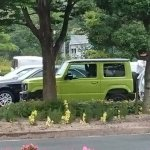 2019 Suzuki Jimny showcased side view