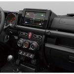 All-new 2019 Suzuki Jimny interior