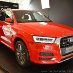 Audi Q3 Design Edition front three quarters