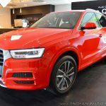 Audi Q3 Design Edition left front three quarters
