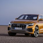 Audi Q8 front three quarters left side