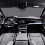 Audi Q8 interior dashboard