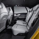 Audi Q8 interior rear seats
