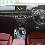 Audi S5 review dashboard