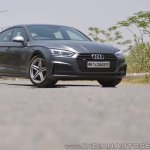 Audi S5 review front angle view low