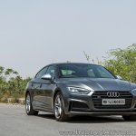 Audi S5 review front angle view