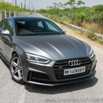 Audi S5 review front angle
