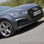 Audi S5 review front section