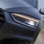 Audi S5 review headlight